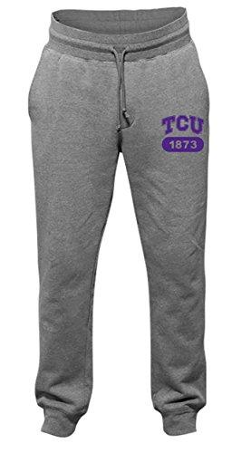 NCAA Tcu Horned Frogs Men's Jogger Cuffed Pants, Medium, Dark (Tcu Mens Pants)