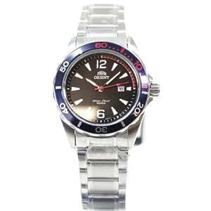 Orient FSZ3V001B0 Deep Diver - Reloj de pulsera para mujer (mecanismo de cuarzo e indicación de fecha), color negro