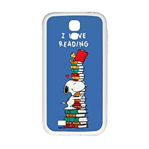 Happy Lovelly snoopy Cell Phone Case for Samsung Galaxy S4