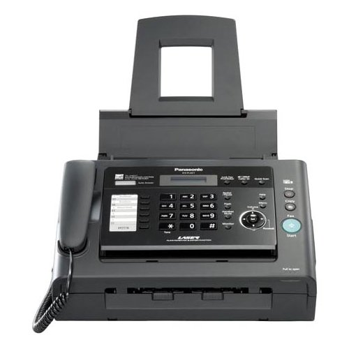 Panasonic KX-FL421 Fax/Copier Machine. KX-FL421 33.6KBPS LASER FAX USB 2.0 W/ PC SCANNER & PRINTER FAX. Laser - Monochrome Sheetfed Digital Copier - 10cpm Mono - 600 x 600dpi - 250 Sheets Input - Plain Paper Fax - Corded Handset - 33.60 Kbps Modem ASC