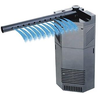 650L/H SUNSUN JP094 Filtro y bomba de agua internos en forma de esquina para acuarios/peceras, adecuados tanto para tanques tropicales como de agua salada: ...