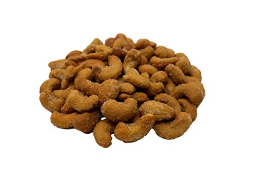 NUTS U.S. – Honey Roasted Salted Cashews   Indulge your Sweet Cravings   Roasted With Honey and Salt And Coated With Sugar  Packaged in Resealable Bags!!! (2 LBS)