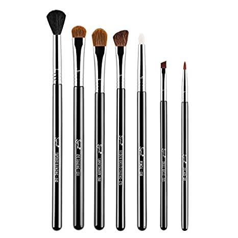 Sigma Beauty Basic Eyes Makeup Kit – Includes 7 Brushes