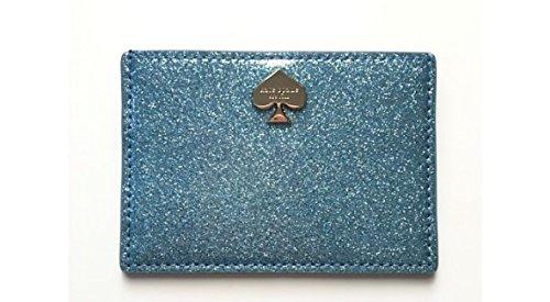 Kate Spade Glitter Bug Graham Sparkling Card Case Holder, Lakesedge by Kate Spade New York