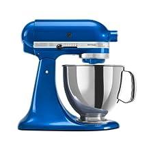 KitchenAid RRK150EB Refurbished Artisan Series Stand Mixer, 5 quart, Electric Blue