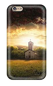 Church Graphic Art Creative Case Compatible With Iphone 6/ Hot Protection Case by runtopwell