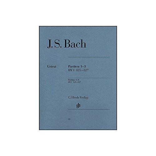 G. Henle Verlag Partitas 1-3 BWV 825 - 827 By Bach