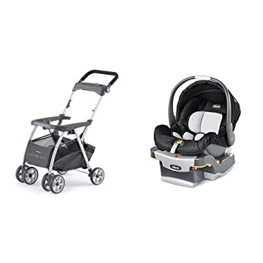 Chicco Keyfit Infant Car Seat and Base with Car Seat with Caddy