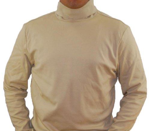 SAND Men's Combed Cotton Euro Design Ski Casual Turtleneck (XX-Large) Design Mens Neck