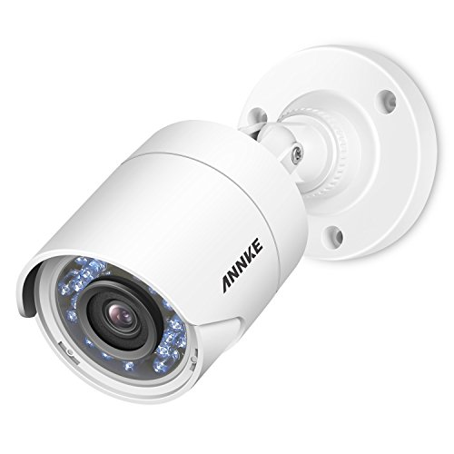 ANNKE 1080P Security Camera, 2MP HD TVI IP Cam IP66 Waterproof Surveillance System with Night Vision,66ft IR Cut Clear Distance, Outdoor Indoor Monitor for Home Office Baby Nanny (Best Annke Baby Camera Monitors)