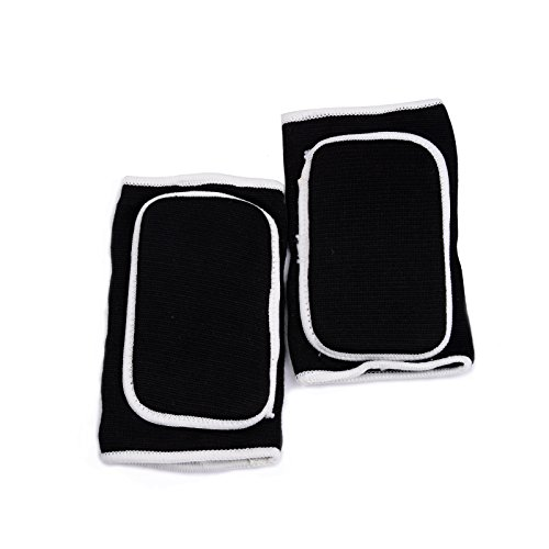 - KUKOME Breathable Protective Sponge Elbow Support Elbow Brace One Size (Black)