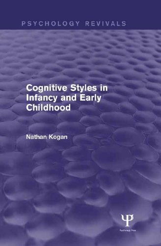 Cognitive Styles in Infancy and Early Childhood (Psychology Revivals)