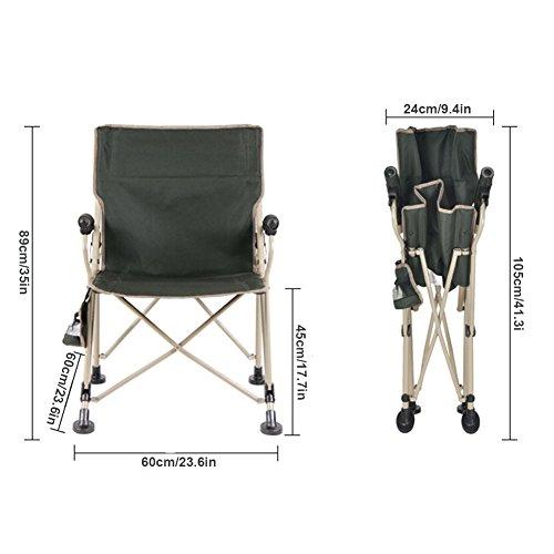 HMDX Chaises De Camping Pliantes Extrieures Portable Compact Stable Chaise Plage Pliante Avec Accoudoir