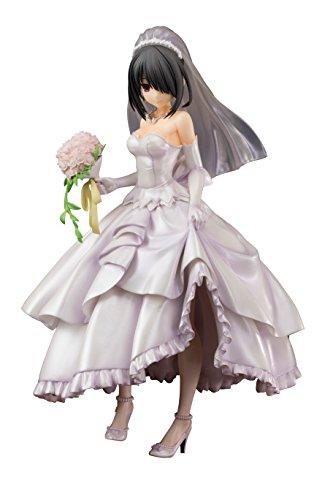 PULCHRA Date A Live II: Kurumi Tokisaki (Wedding Version) 1: 8 Scale PVC Figure