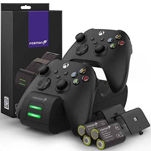 Estacion De Carga 2 Baterias  Xbox One Series X/s negro