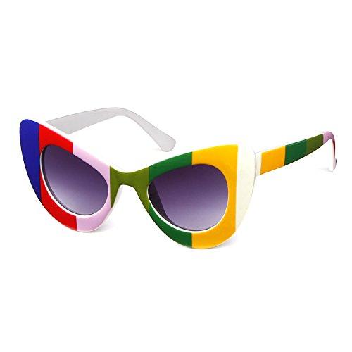 cat eye sunglasses Vintage Mod Style Retro Kurt Cobain - Kurt Glasses Yellow Cobain
