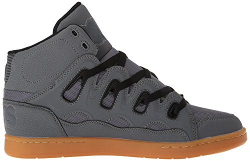 Osiris D3H Grey/Black/White. Charcoal/Black/Gum