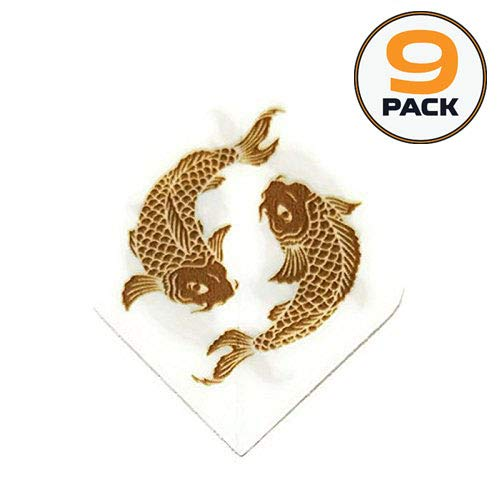 - Art Attack 9 Pack Unicorn Core Koi Fish Goldfish Hologram Metallic 75 Micron Strong Dart Flights