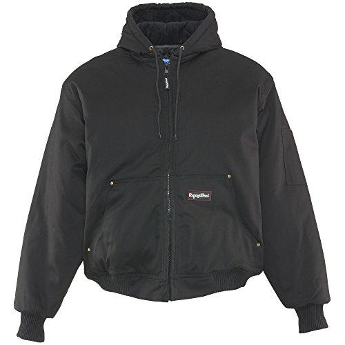 Refrigiwear Men's Insulated ComfortGuard Service Workwear Active Jacket (Black, Large) ()