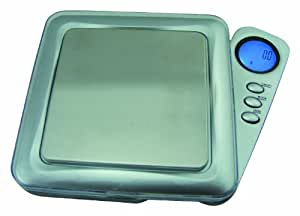 Weigh Masters Precision+ ProDigital Pocket Scale 1000g x 0.1g (Silver)