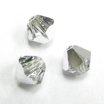 20ea5fc29 Amazon.com: 72 pcs Swarovski Crystal 5328 Xilion Bicone Bead Spacer ...