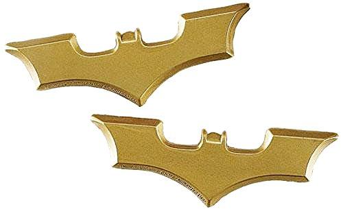 Adam West Batman Costume Arkham Knight (Rubies Costume Co. Batman The Dark Knight Plastic Batarang Set Of 2)