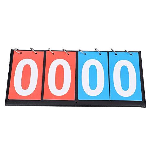 Scorebord Flip Voetbal Volleybal Basketbal Tafeltennis Spel Cijfer Draagbare Score Teller Outdoor (2)