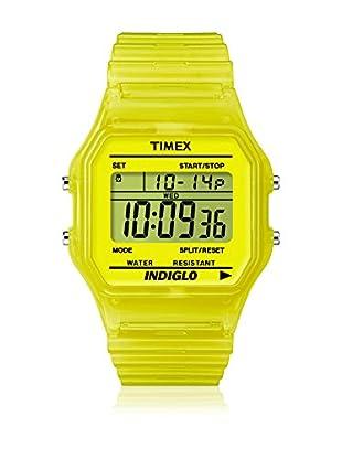 d19a5b28f927 TIMEX Reloj de cuarzo Unisex Unisex Classic Amarillo 35 mm