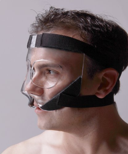 Image of Sports Knight� - Nose Guard/Face Shield with Extra Grip