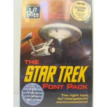 THE STAR TREK FONT PACK - COLLECTORS EDITION (3.5