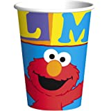 : Elmo Loves You Cups - 8 Count (9 oz.)