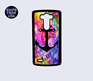 LG G3 Case - Colorful Design Black Anchor iPhone Cover