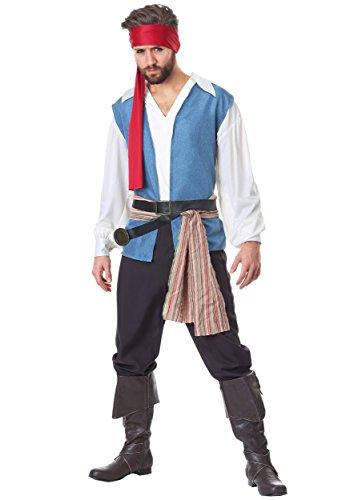 (Plus Size Men's Sparrow Pirate Costume)