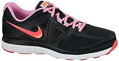 Nike W Dual Fusion Lite 2 MSL - Zapatillas de running para mujer, color negro / rosa / blanco, talla 40.5