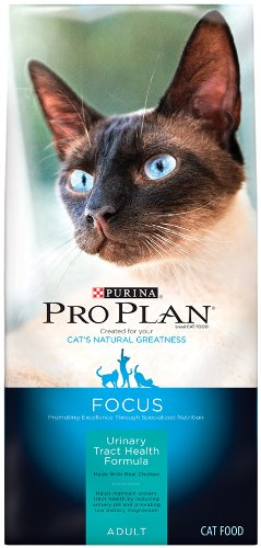 Purina Pro Plan Dry Adult Cat Food, Urinary Tract Health Formula, 3.5-Pound Bag, My Pet Supplies