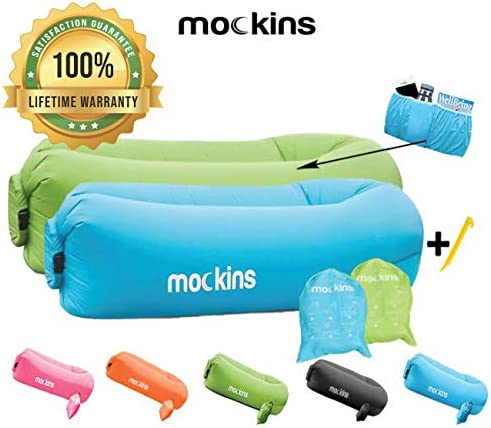 Mockins Inflatable Lounger Portable Accessories product image