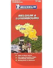 Michelin Belgium & Luxembourg Map