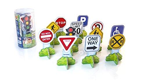 (Miniland Minimobil Traffic Signs (USA))