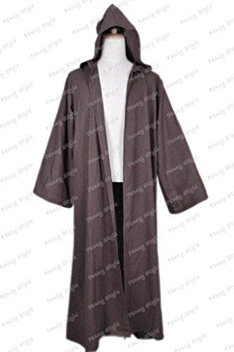 Star Wars Anakin Skywalker Cosplay Costume Robe Brown M (Anakin Skywalker Robe)