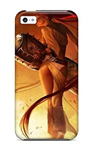 CkTAwmO16298DBACX Tpu Phone Case With Fashionable Look For Iphone 5c - Heavenly Sword Game