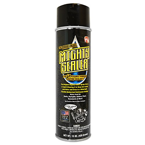 3 Pack Mighty Sealer - Flexible Rubber Coating - Black