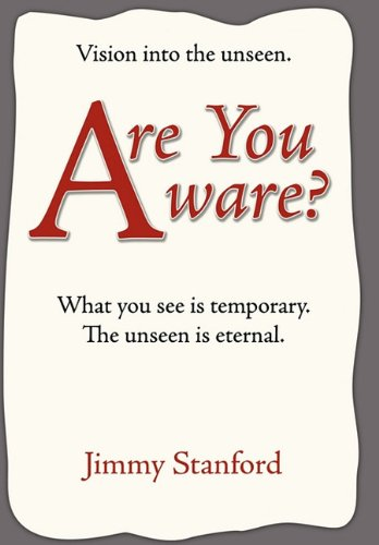 Read Online Are You Aware?: Vision Into the Unseen ebook
