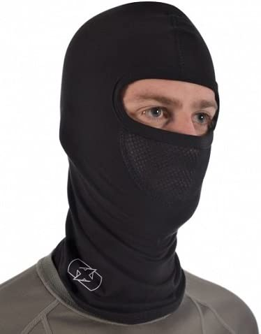 Black Oxford Cotton Balaclava