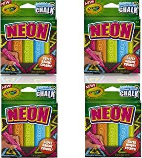 Crayola Special Effects Sidewalk Chalk - Neon ( 20 Chalk Sticks) by Crayola