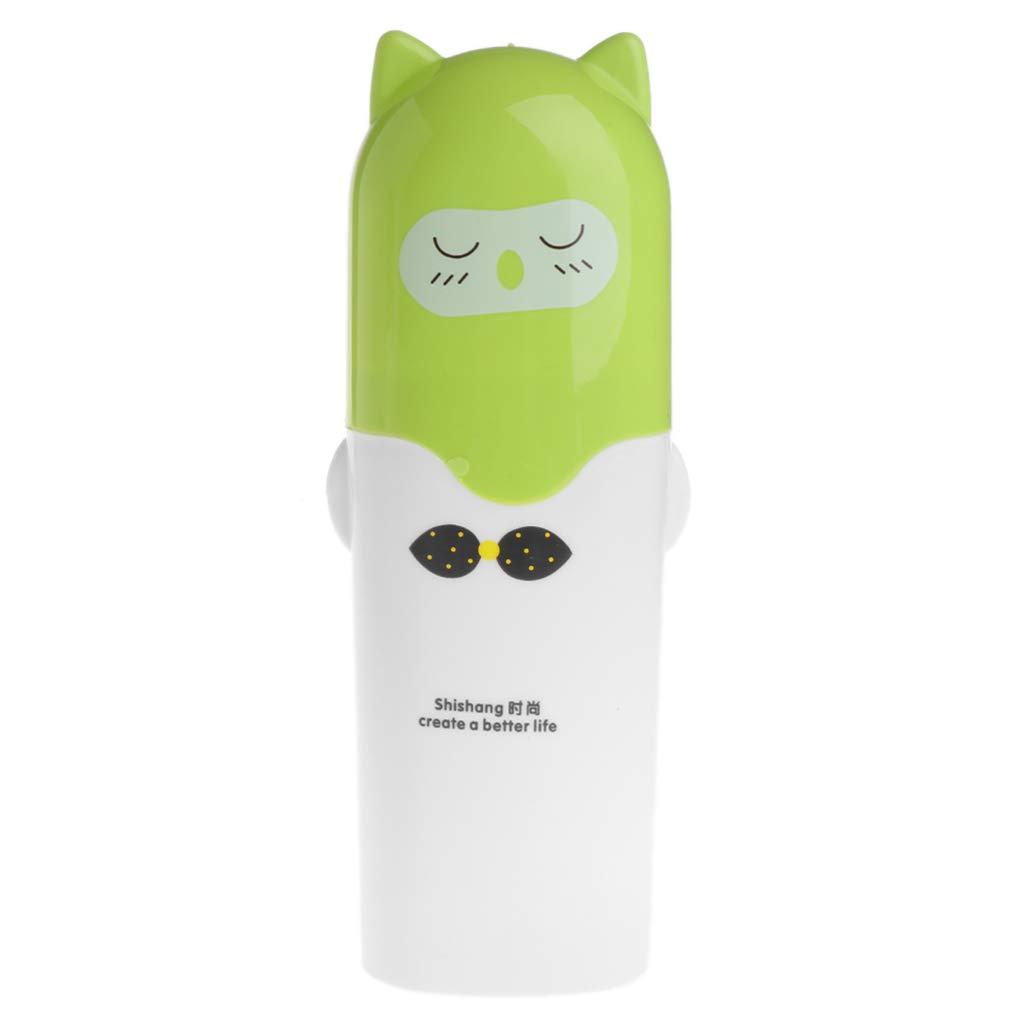 YoungerY Escursionismo Portatile da Viaggio Custodia da Campeggio per spazzolino Protettiva Custodia Protettiva per dentifricio