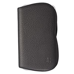 Trexta Elma Leather Hard Case for iPhone 3G and 3GS - Black