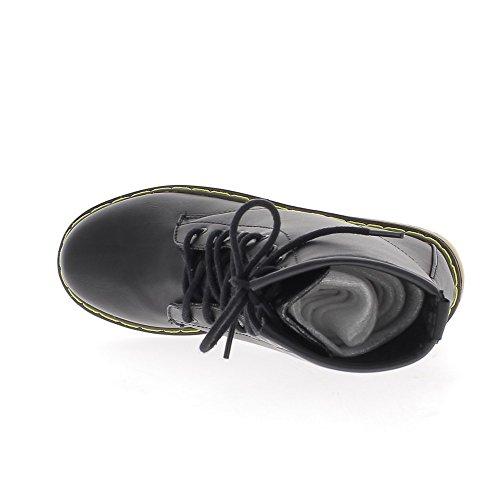 Stivaletti scarpe donna raddoppiata a pizzo tacco 3cm