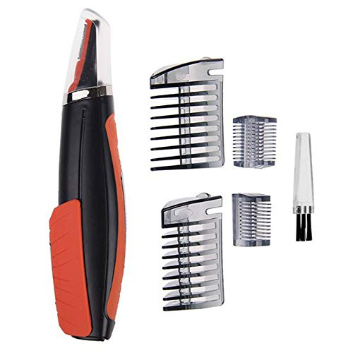 (Pro 2 in 1 Hair Trimmer Switchblade Shaver Grooming Tool Kit)