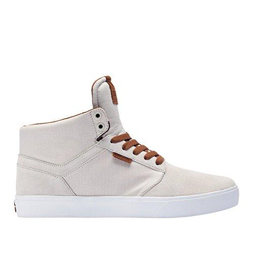 Supra Mens Yorek Hi Offwht Witte Schoenen Maat 9
