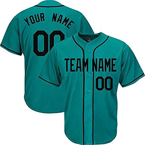 YNMYS Custom Football Team Designated Player Game Jersey #3-#18Men MBlack